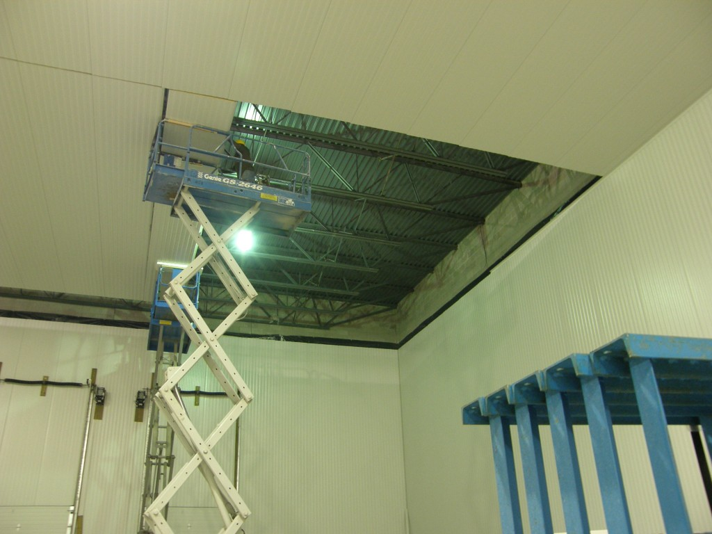 Walk-on Ceiling Installation